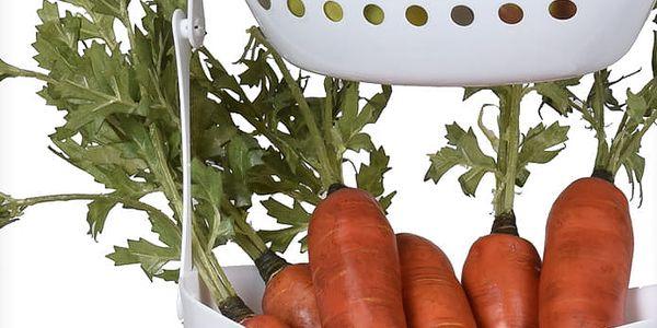 EH Excellent Houseware Závěsný košík na zeleninu a ovoce - 3 patra2