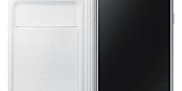 Pouzdro na mobil flipové Samsung pro Galaxy J3 2016 (EF-WJ320PWEGWW) bílé3