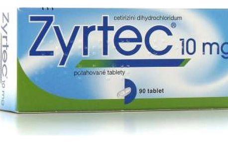 ZYRTEC 20X10MG Potahované tablety