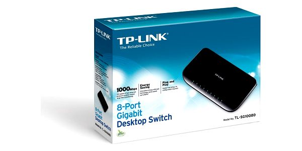 Switch TP-Link TL-SG1008D (TL-SG1008D) 8 port, Gigabit2
