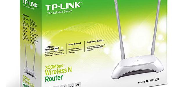 Router TP-Link TL-WR840N (TL-WR840N) bílý4