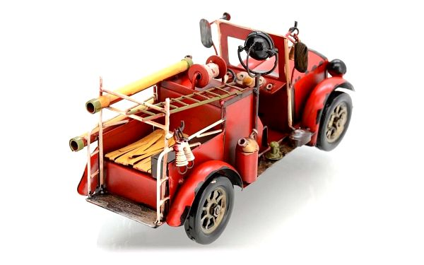 BMSHOP Model auta FIRE TRUCK 1:154