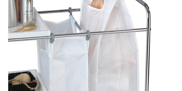 Pojízdný koš na prádlo s odkládacím systémem Wenko Arona, 64 l2