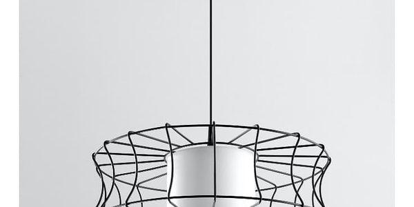 Černé stropní svítidlo Nice Lamps Parla