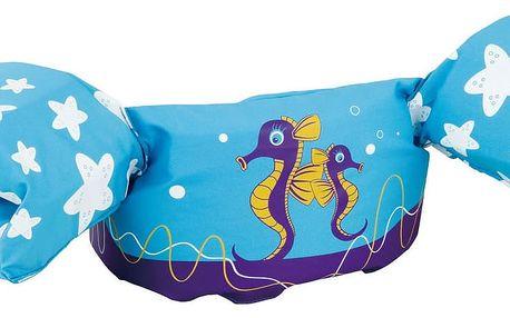 Plovací top SEVYLOR plaváček modrý - mořský koník