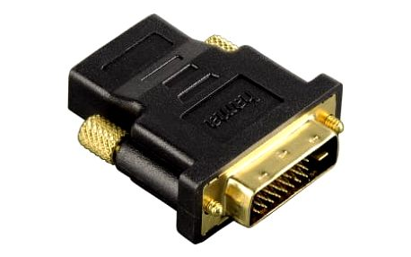 Redukce Hama DVI / HDMI, pozlacená (34035) černá