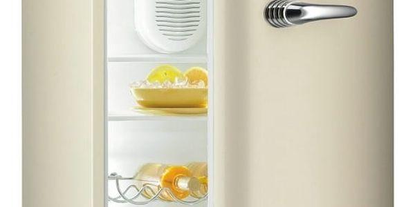 Chladnička Gorenje Retro RF 60309 OC béžová + DOPRAVA ZDARMA2