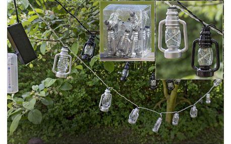 Sada 2 světelných LED řetězů Boltze Lantern,délka210cm