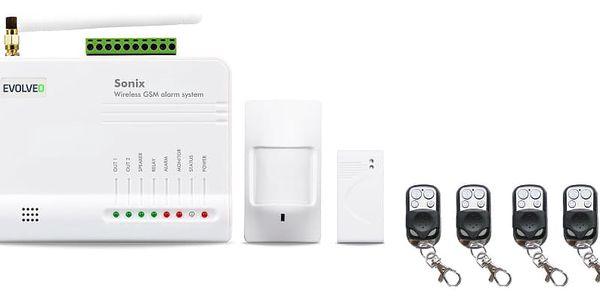 Alarm Evolveo Sonix, bezdrátový, GSM (ALM301) bílý3