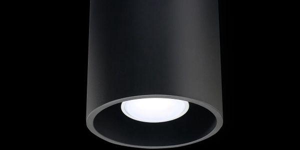 Černé stropní svítidlo Nice Lamps Roda4