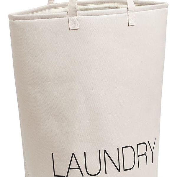 Koš na prádlo, béžový - kontejner 50 l, ZELLER