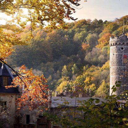 Netradiční zážitek: 2 noci na hradě Hauenštejn pro 2-7 osob