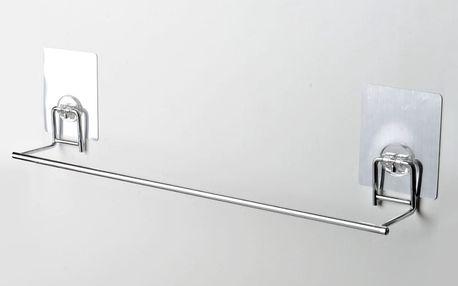 Samodržící koupelnový držák na osušky Compactor Bath