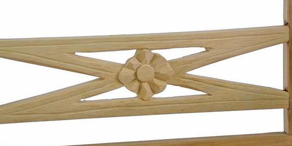 Divero 35093 Dřevěná 2-místná lavice pro děti z teakového dřeva4