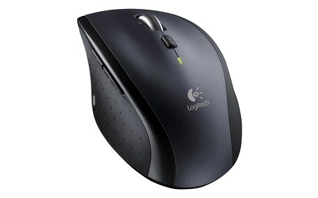 Myš Logitech Wireless Mouse M705 Marathon černá/šedá (/ laserová / 7 tlačítek / 1000dpi) (910-001949)