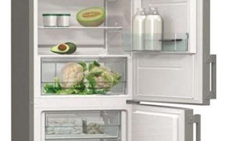 Chladnička s mrazničkou Gorenje Essential RK6192AX nerez