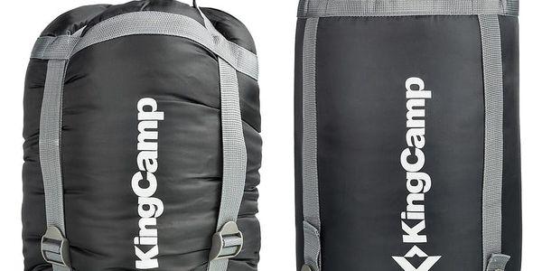 Spací pytel KING CAMP Oasis 250 modrý - levý zip2