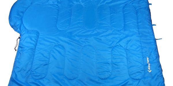 Spací pytel KING CAMP Oasis 250 modrý - levý zip3