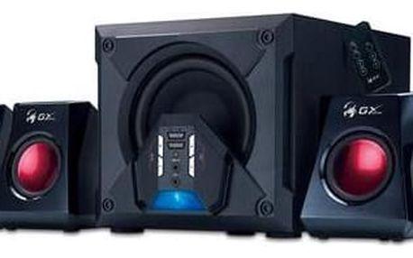 Reproduktory Genius SW-G5.1 3500 (31731017100) černé/červené