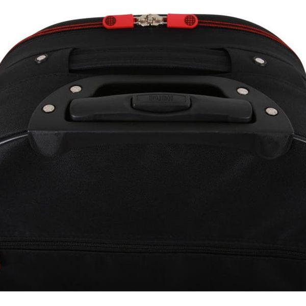 Sada 3 černých cestovních kufrů na kolečkách Travel World Let´s Go - doprava zdarma!4