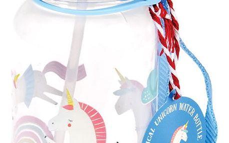 Modrá lahev na vodu Rex London Magical Unicorn
