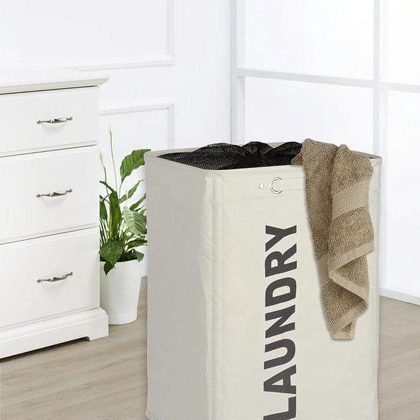 Koš na prádlo QUADRO, kontejner 79 l, WENKO3