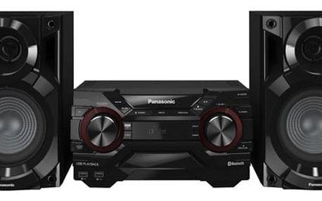 Minisystém Panasonic SC-AKX200E-K černá