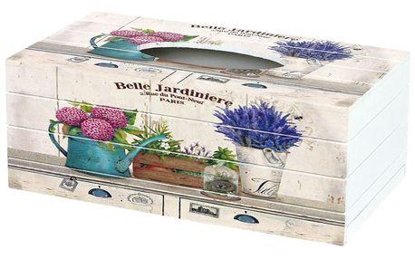 Box na kapesníky Belle Jardiniere, 24,5 cm
