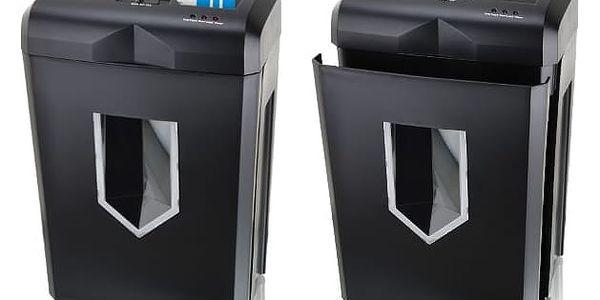 Skartovač Peach PS500-70 14 listů/ 18L/ křížový řez (PS500-70) černý + DOPRAVA ZDARMA2