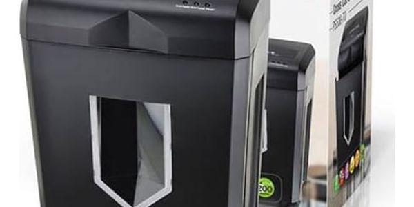 Skartovač Peach PS500-70 14 listů/ 18L/ křížový řez (PS500-70) černý + DOPRAVA ZDARMA3