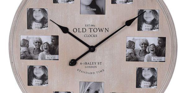 Nástěnné hodiny Photo, pr. 60 cm