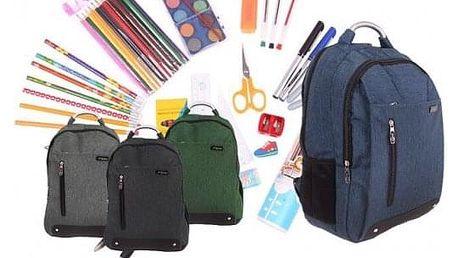 Batoh Advanced s náplní školních potřeb