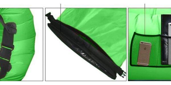 Sedco Sofair Pillow Shape zelený4