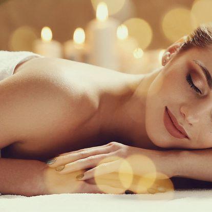 90minutová relaxační aroma masáž celého těla