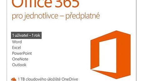 Software Microsoft Office 365 pro jednotlivce CZ (QQ2-00602)