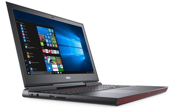 Notebook Dell 15 7000 (7567) (N-7567-N2-512K) černý Software F-Secure SAFE, 3 zařízení / 6 měsíců + Monitorovací software Pinya Guard - licence na 6 měsíců v hodnotě 1 178 Kč + DOPRAVA ZDARMA3