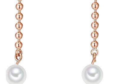 Perlové náušnice Nova Pearls Copenhagen Rose Heléne