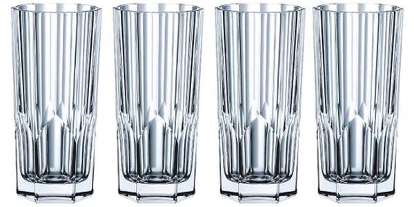 Sada 4 sklenic z křišťálového skla Nachtmann Aspen, 309ml