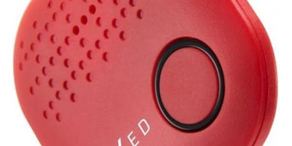 Klíčenka FIXED Smile hlídač osobních věcí, červená (FIXSM-SMILE-RD)