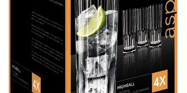 Sada 4 sklenic z křišťálového skla Nachtmann Aspen, 309ml4