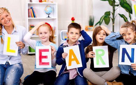 Semestrální kurz anglického jazyka pro děti
