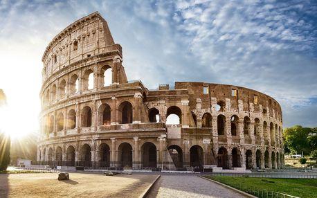 Podzimní 5denní zájezd za krásami jižní Itálie - Řím, Neapol, Capri, Vesuv