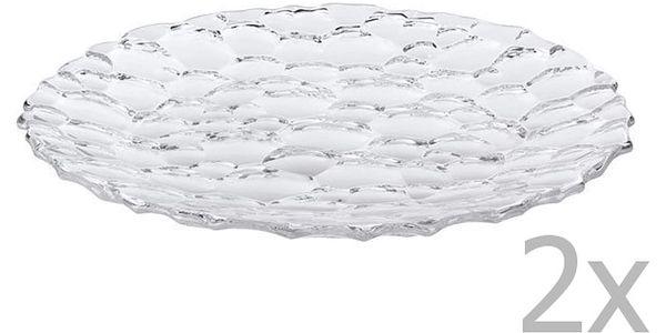 Sada 2 talířů z křišťálového skla Nachtmann Sphere,⌀ 32cm