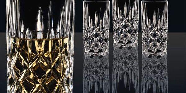 Sada 4 sklenic z křišťálového skla Nachtmann Noblesse, 375ml3