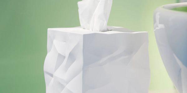 Box na kapesníčky Essey Wipy Cube White2