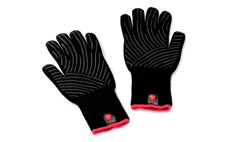 Weber Grilovací rukavice černá S/M 2 ks