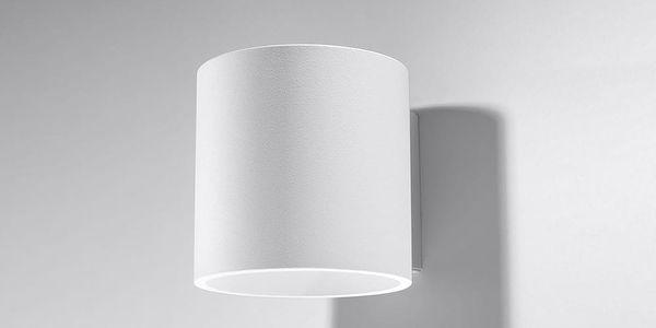 Bílé nástěnné svítidlo Nice Lamps Roda3