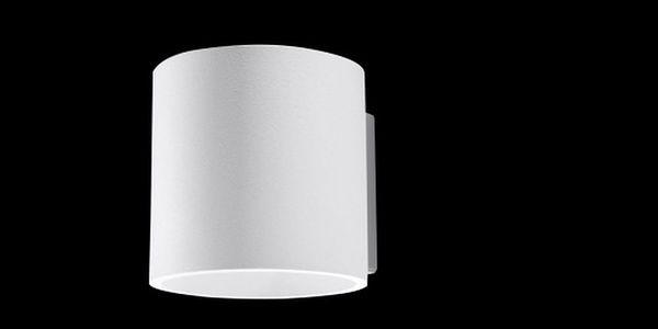Bílé nástěnné svítidlo Nice Lamps Roda4