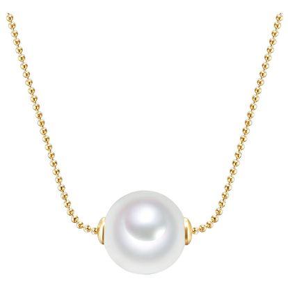 Náhrdelník s perlou Nova Pearls Copenhagen Goldie Eve