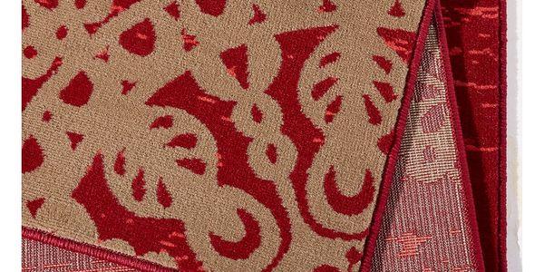 Červený koberec Hanse Home Gloria Lace, 120x170cm4